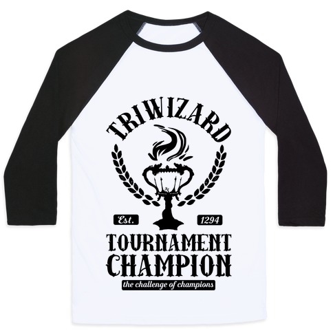 Triwizard Tournament Champion Baseball Tee