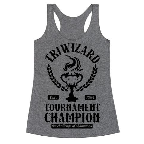 Triwizard Tournament Champion Racerback Tank Top