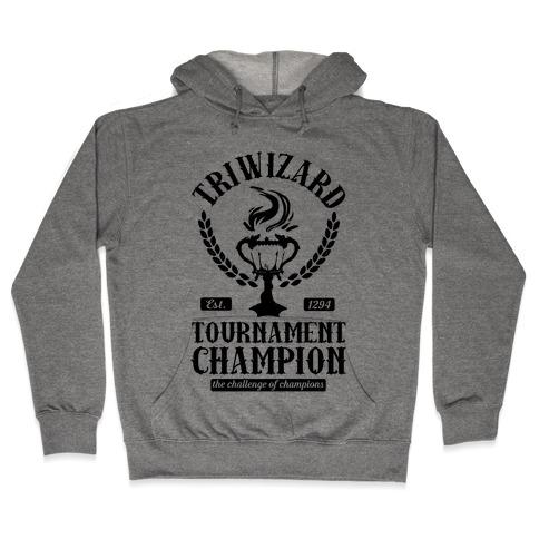 Triwizard Tournament Champion Hooded Sweatshirt