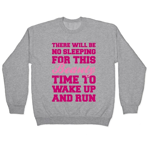There Will Be No Sleeping For This Beauty Pullover