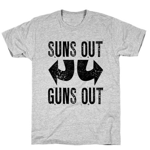 Suns Out, Guns Out (Tank) Mens T-Shirt