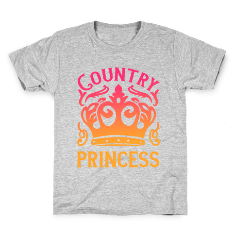 Country Princess Kids T-Shirt