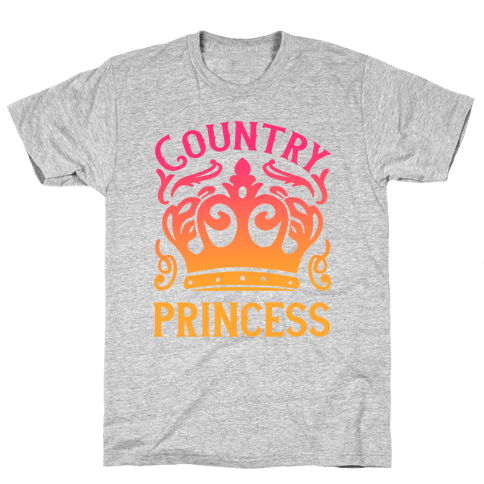 Country Princess Mens T-Shirt