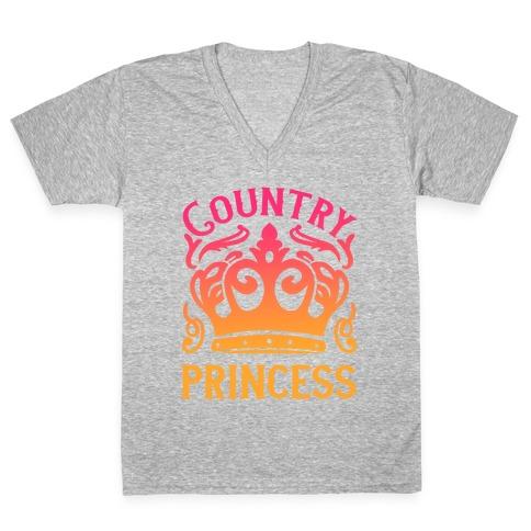 Country Princess V-Neck Tee Shirt