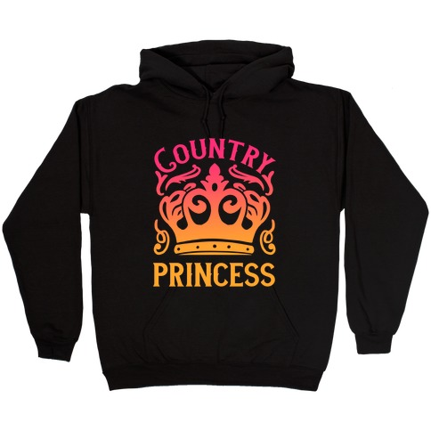 Country Princess Hooded Sweatshirt