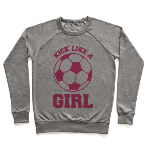 Kick Like a Girl Pullover