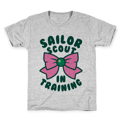 Sailor Scout In Training (Jupiter) Kids T-Shirt