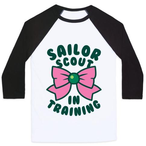 Sailor Scout In Training (Jupiter) Baseball Tee