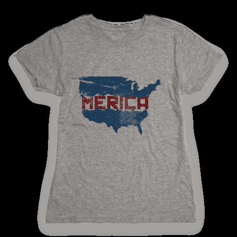 America F*** Yeah Womens T-Shirt