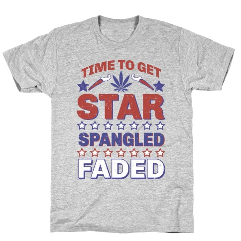 Star Spangled Faded T-Shirt
