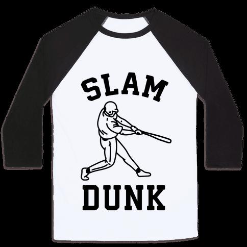 Slam Dunk Baseball Baseball Tee