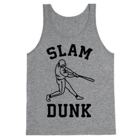 Slam Dunk Baseball Tank Top
