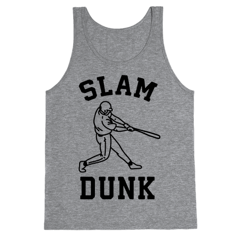 Slam Dunk Baseball Tank Top