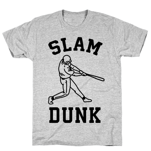 Slam Dunk Baseball Mens T-Shirt