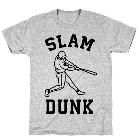 Slam Dunk Baseball Mens T-Shirt