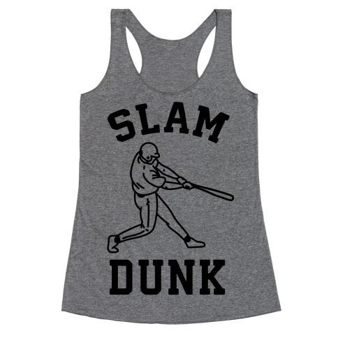 Slam Dunk Baseball Racerback Tank Top