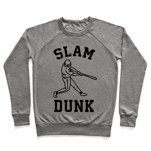 Slam Dunk Baseball Pullover