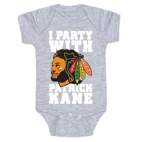 I Party With Patrick Kane Baby Onesy