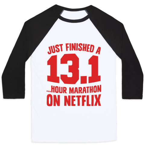 Just Finished A 13.1 Baseball Tee