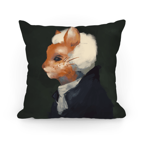 The First Americat Purresident Pillow