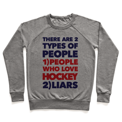 Hockey Lovers And Liars Pullover