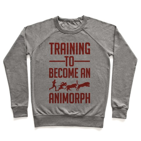 Training To Become An Animorph Pullover