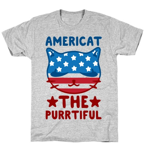 Americat The Purrtiful T-Shirt