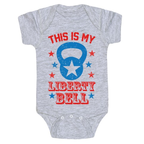 This Is My Liberty Bell Baby Onesy