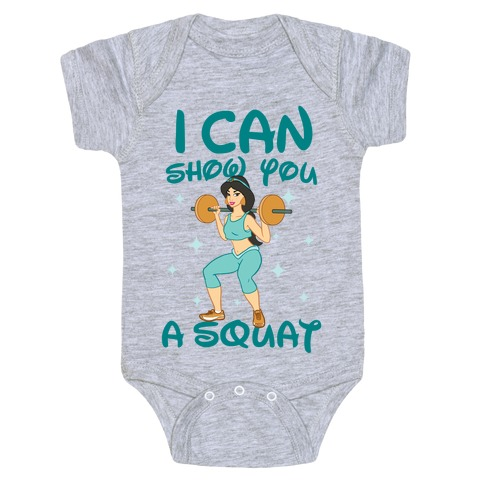 I Can Show You a Squat Baby Onesy