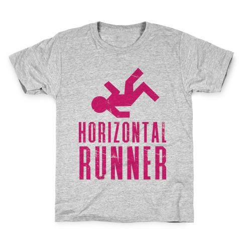 Horizontal Runner Kids T-Shirt