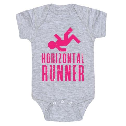 Horizontal Runner Baby Onesy
