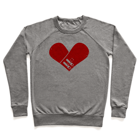 Snowboard Heart (Red) Pullover