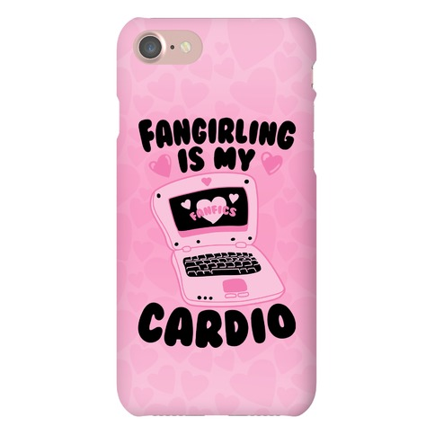 Fangirling Is My Cardio Phone Case