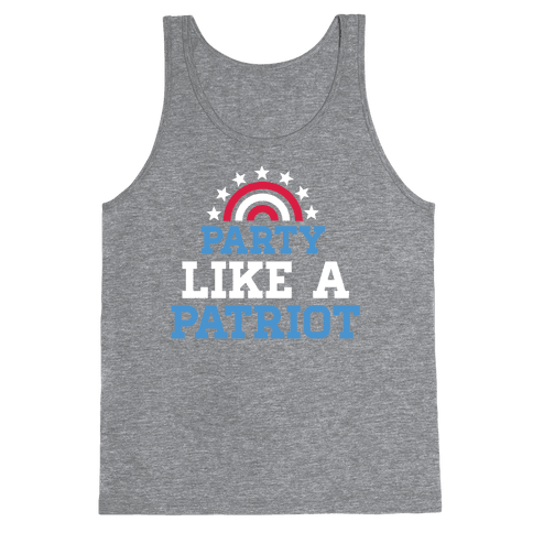 Party Like a Patriot Tank Top