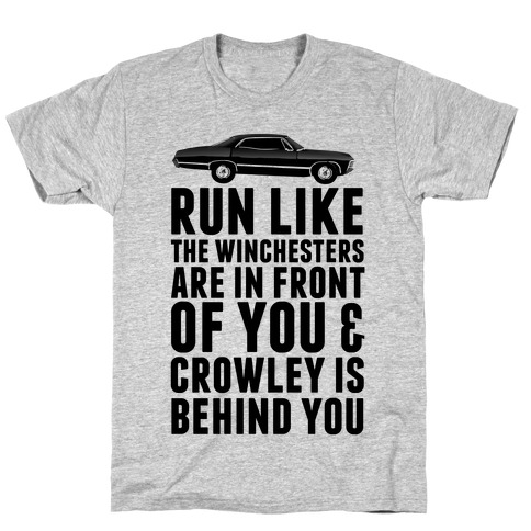 Run Like The Winchesters T-Shirt
