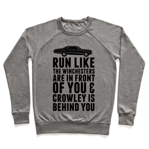 Run Like The Winchesters Pullover