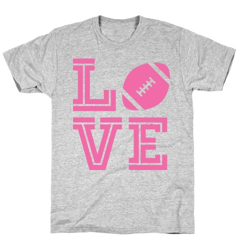 L (Football) V E Mens T-Shirt