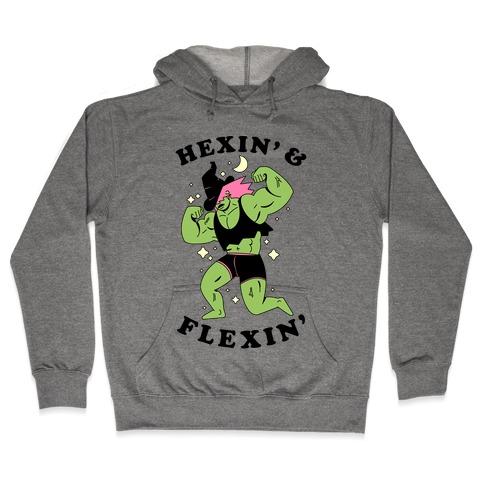 Hexing & Flexing Hooded Sweatshirt