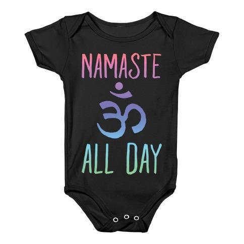 Namaste All Day Baby Onesy