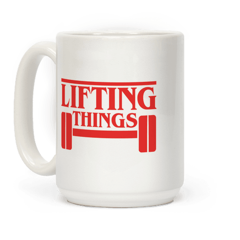 Lifting Things Coffee Mug