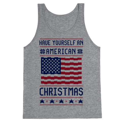 Have Yourself An American Christmas Tank Top