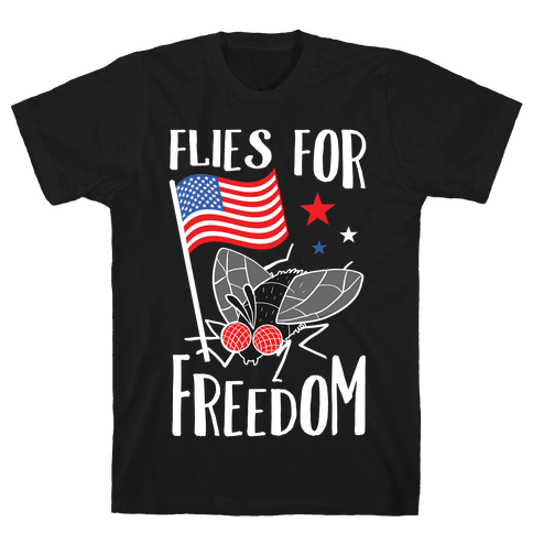 Flies For Freedom Mens/Unisex T-Shirt