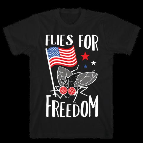Flies For Freedom Mens/Unisex T-Shirt