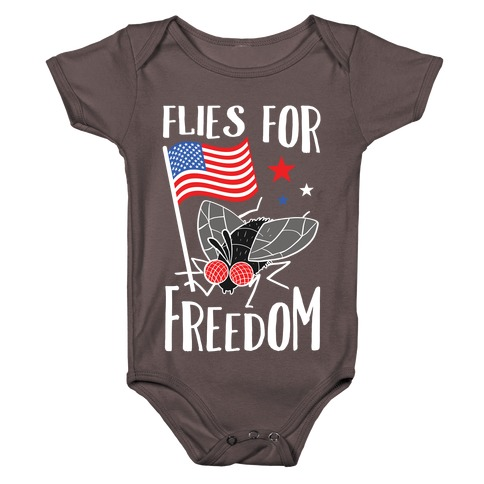 Flies For Freedom Baby One-Piece