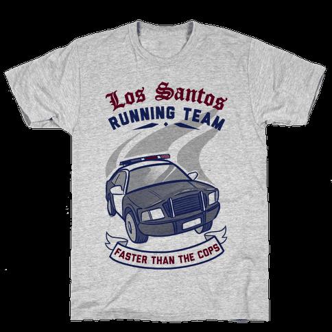 Los Santos Running Team Mens T-Shirt