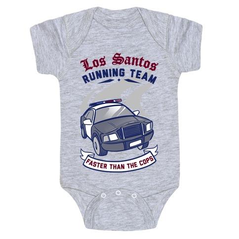 Los Santos Running Team Baby Onesy