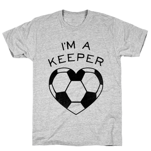 I'm a Keeper (Baseball Tee) Mens T-Shirt