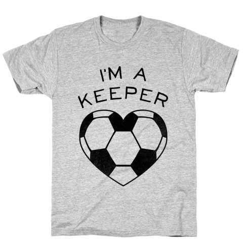 I'm a Keeper (Baseball Tee) Mens T-Shirt