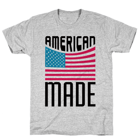 American Made Mens/Unisex T-Shirt