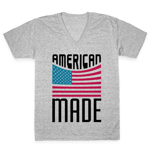 American Made V-Neck Tee Shirt